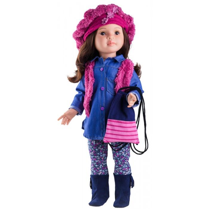 stor dukke med langt hår